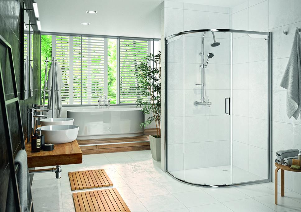 Merlyn Showering | Luxury Bathrooms - Enki Magazine
