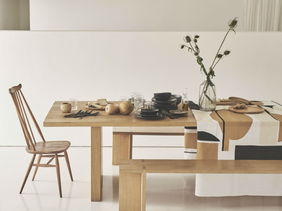 9173da16 Returning to basics, the new collection brings pure lines, unfussy details  and a series of natural materials to the table for the new season.